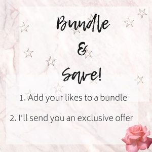 Bundle & Save on designer clothing <3